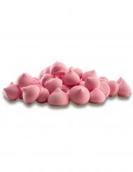 Pot de petites meringues en sucre roses 90 g