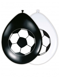 8 Ballons en latex Ballon de Foot 30 cm