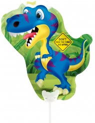 Ballon en aluminium Dinosaure 32 x 27 cm
