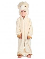 Déguisement lama luxe enfant