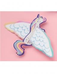 8 Licornes volantes en papier