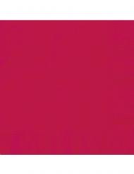 20 Petites serviettes en papier rouges 25 x 25 cm