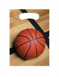 8 Sacs à cadeaux Ballon de basket 23 x 16 cm