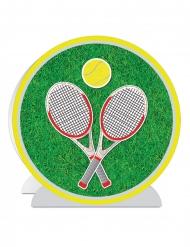 Centre de table 3D Tennis 25 cm