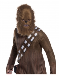 Masque avec fourrure Chewbacca Star Wars™ adulte
