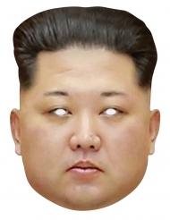 Masque en carton Kim Jong Un