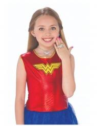 Kit boucles d'oreilles, collier et bague Wonder Woman™