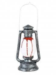 Lampe à huile ensanglantée avec son et lumière 24 cm