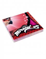 20 Serviettes en papier Ladybug™ 33 x 33 cm