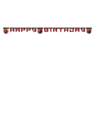Guirlande Happy Birthday The Amazing Spiderman™ 2 m