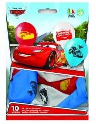 10 Ballons en latex Cars™ 28 cm