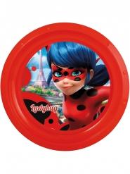 Assiette plate en plastique Ladybug™ 21 cm
