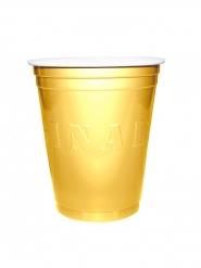 20 Gobelets Américains Original Cup Or 53 cl