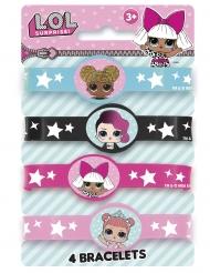 4 Bracelets élastiques LOL Surprise™