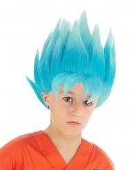 Perruque bleue Goku Saiyan Super Dragon ball™ enfant