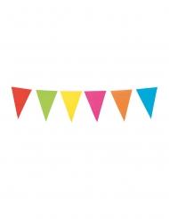 Guirlande à mini fanions multicolores 3 m