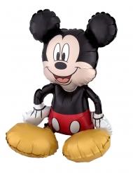 Ballon aluminium Mickey Mouse™ assis 45 x 45 cm