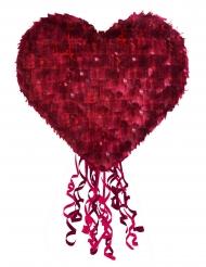 Piñata cœur rouge premium 80 x 40 x 20 cm