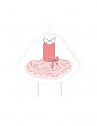 Bougie d'anniversaire Petite Ballerine rose