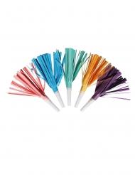 8 Sans-gênes tassel multicolores