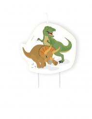 Bougie d'anniversaire Grands Dinosaures