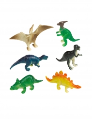 8 Mini figurines Grands Dinosaures