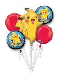 5 Ballons en aluminium Pokémon™
