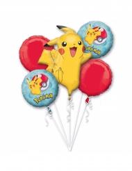 5 Ballons aluminium Pokémon™