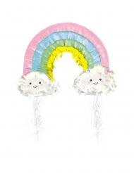 Piñata arc-en-ciel nuage 50 cm