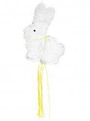 Piñata lapinou blanc 48 cm