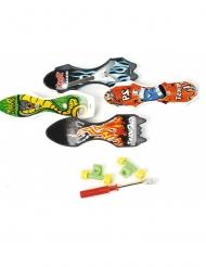 Jouets piñata mini-skate 9 cm