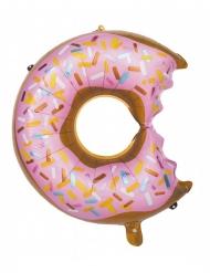 Ballon aluminium donuts croqué 49 x 66 cm