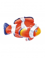 Ballon aluminium poisson clown 89 x 62 cm