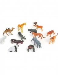 Accessoire pinata animal du zoo 6 cm