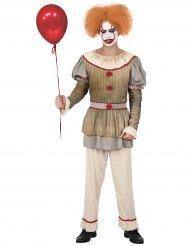 Déguisement clown psycho homme
