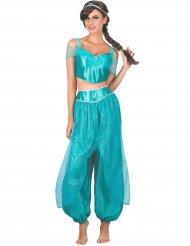 Déguisement princesse arabe bleu femme