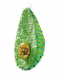 Piñata avocat vert et doré 35 cm