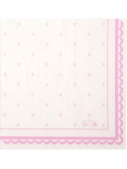 16 Serviettes en papier Petit Rosa 33 x 33 cm