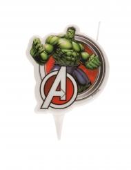 Bougie d'anniversaire Hulk Avengers™ 7,5 cm
