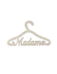 Cintre en bois Madame 35 x 20x 0,9 cm