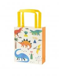 8 Sacs cadeaux en papier dinosaure
