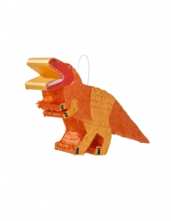 Piñata dinosaure orange 18 x 33 cm
