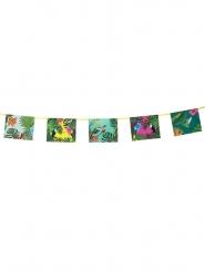 Guirlande en papier tropical des îles 4 m