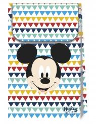6 sacs cadeaux en carton premium Mickey 21 X 13 cm