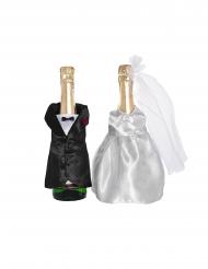 Costume et robe pour bouteilles