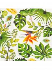 16 Serviettes en papier golden jungle 33 x 33 cm