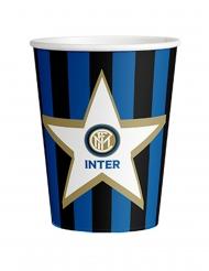 8 Gobelets en carton Inter™ 266 ml