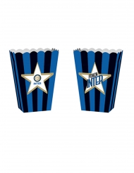 4 Boîtes popcorn en carton Inter™ 13,5 x 8,5 x 19 cm