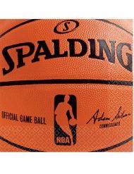 36 Petites serviettes en papier NBA Spalding™ 25 x 25 cm