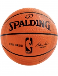 18 Petites assiettes en carton NBA Spalding™ 18 cm